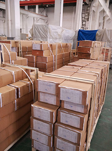marine panels packed