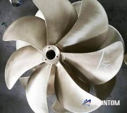 7 blade high efficiency marine propeller