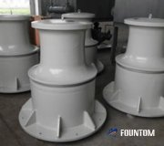 hydraulic capstan for ship mooring