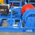 diesel mooring winch
