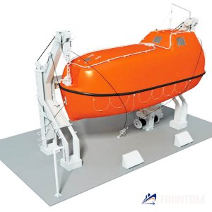 gavity_davit_for_enclosed_lifeboats