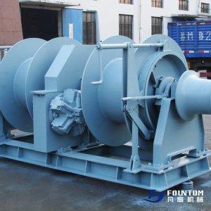 Hydraulic mooring winch-3