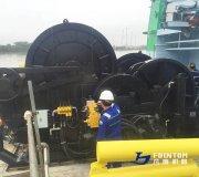 Fountom_towing_winch_on_sea_trial