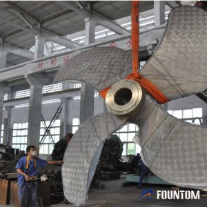 large sized fixed pitch propeller