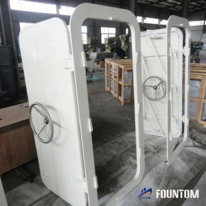 wheel handle quick watertight door